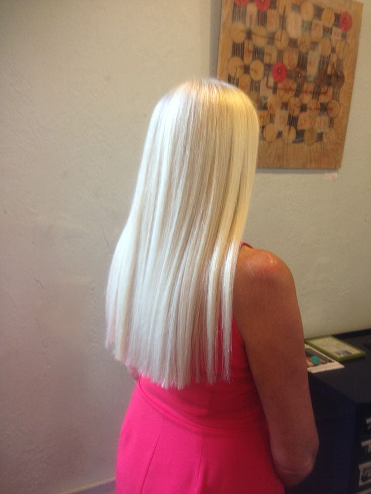 Single process blonde..!