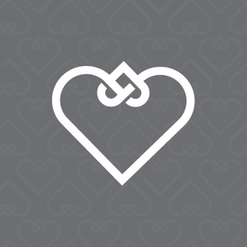 """""""A lovely symbol to represent adoption by Ben Stafford: """"The knotted hearts represent the life of a child being woven into a new family."""" This would make a great tattoo."""