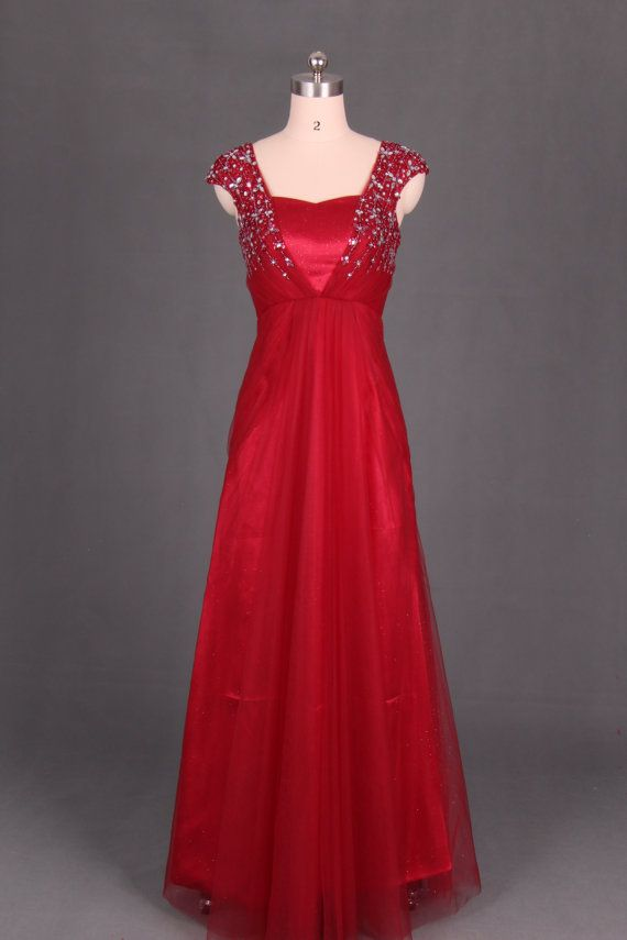 Wine red evening dress, toast dress, the host dress actress dress costume Titanic actress