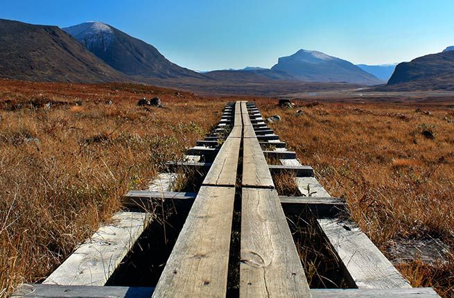 KUNGSLEDEN Where: Sweden  Length: 270 miles