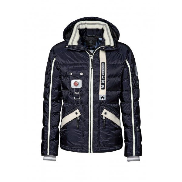 Bogner Pian D Mens Ski Jacket in Navy | Ski | Pinterest | Mens skis