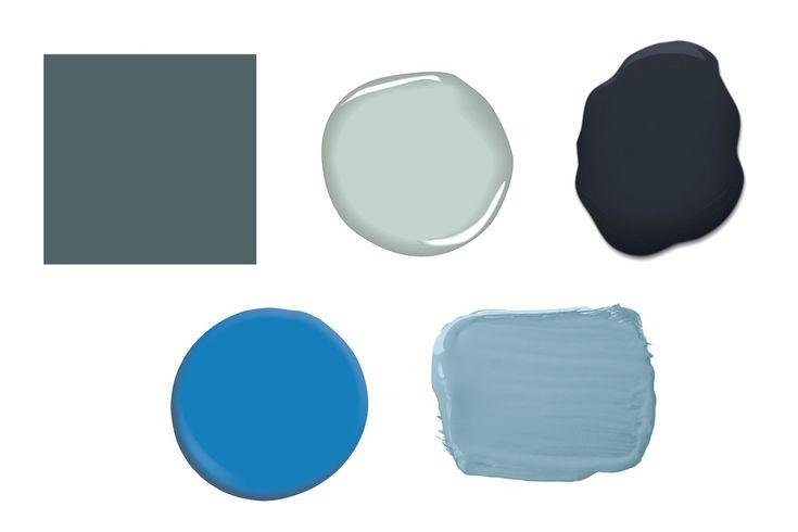 1000 ideas about palladian blue kitchen on pinterest - Benjamin moore aura interior paint ...