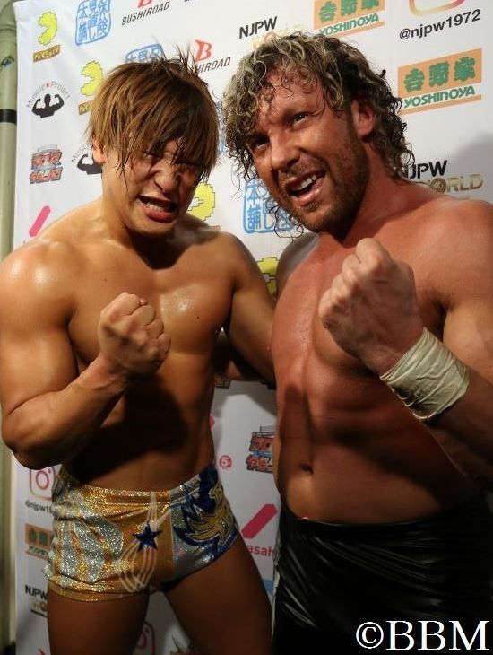 "Kenny Omega and Kota Ibushi ""Golden Lovers"" re-unite and make their official debut back together at Honor Rising 2-23-18"