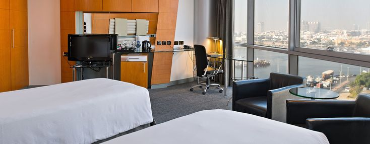 Hotels in Dubai - Hilton Dubai Creek Hotel - Verenigde Arabische Emiraten