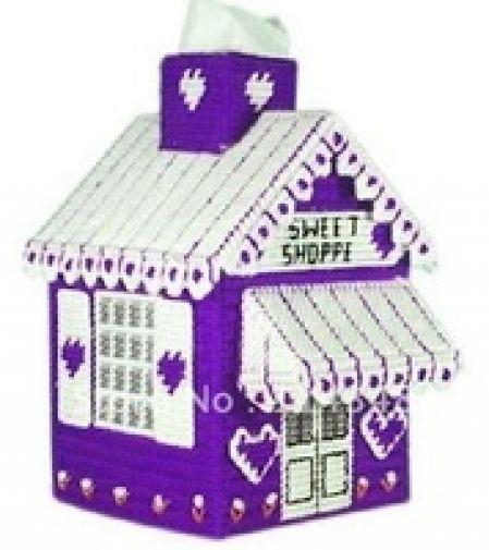 Ev Mendil kutu El Sanatları kiti Kendi ellerinizle yapacağınız şirin bir dekor peçete kutusu! Model Numarası:C5-5 Boyutu: 20cm * 14cm * 14cm
