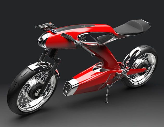 The 50th Anniversary Honda concept
