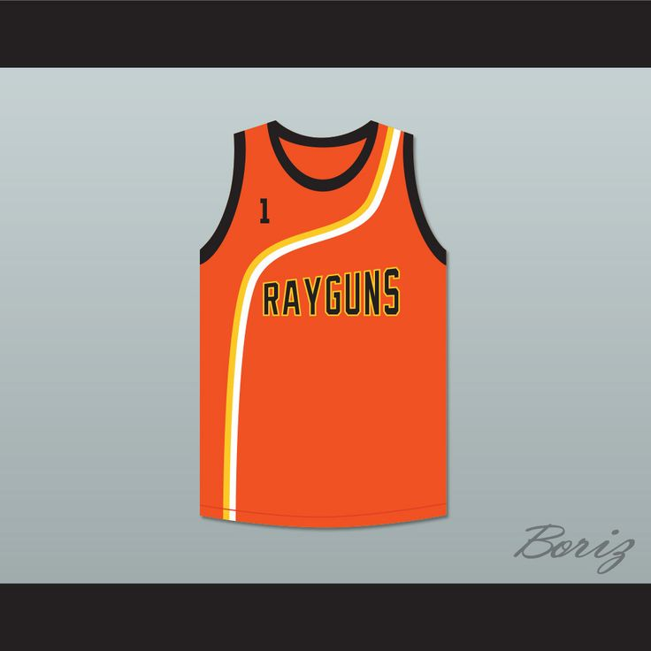 "Baron Davis 1 Roswell Rayguns Orange Basketball Jersey. STITCH SEWN GRAPHICS  CUSTOM BACK NAME CUSTOM BACK NUMBER ALL SIZES AVAILABLE SHIPPING TIME 3-5 WEEKS WITH ONLINE TRACKING NUMBER Be sure to compare your measurements with a jersey that already fits you. Please consider ordering a larger size, if you prefer a loose fit. HOW TO CALCULATE CHEST SIZE: Width of your Chest plus Width of your Back plus 4 to 6 inches to account for space for a loose fit. Example: 18"" wide chest plus 18"" wide…"