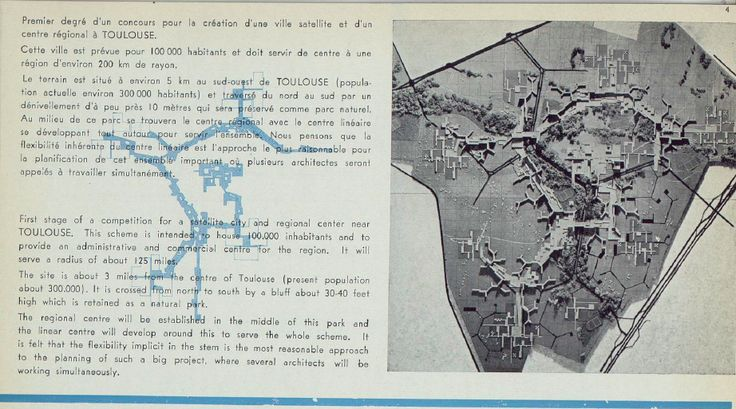 Candilis-Josic-Woods: Urbanisme