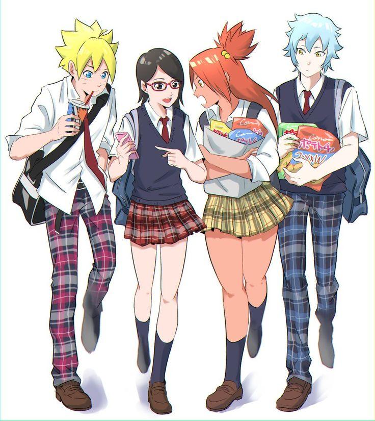 Anime & Cartoons image by Mirian L. Naruto cute, Mitsuki