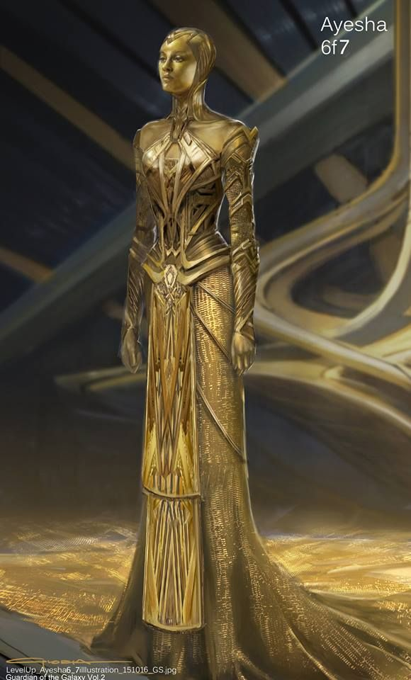 Alternate Ayesha Costume Designs For Guardians Of The Galaxy 2 Costume Design Fantasy Fashion Guardians Of The Galaxy