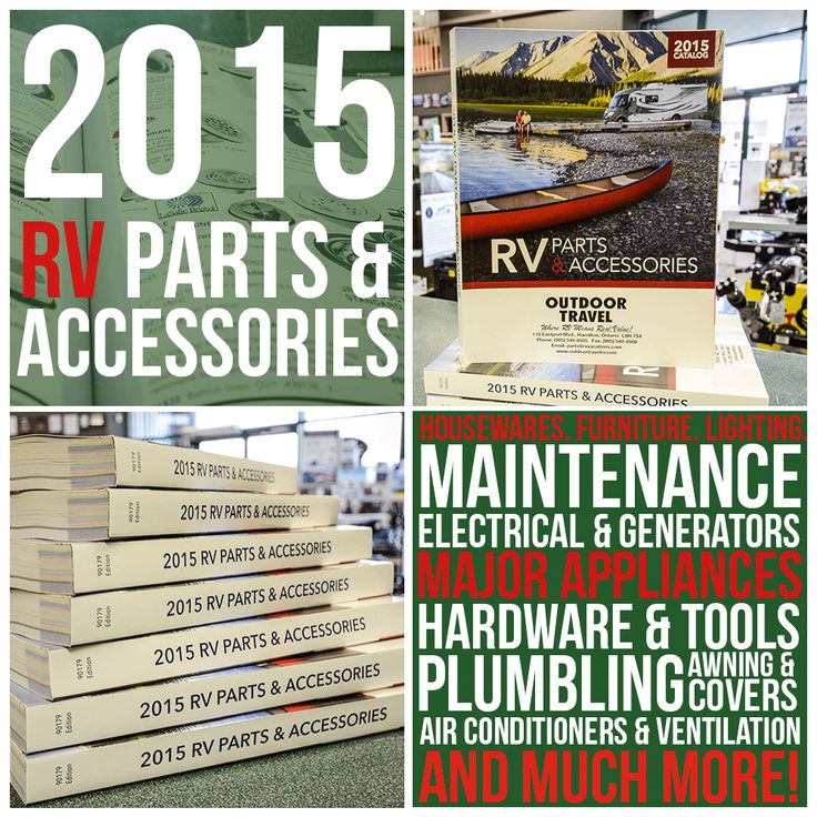 Our 2015 RV Parts & Accessories catalog has arrived! Whether you're thinking about remodeling, require repairs or simply need regular maintenance we've got the resource for it! Swing by our dealership and grab your free parts catalog. (Don't wait too long, these get snatched up quickly!)