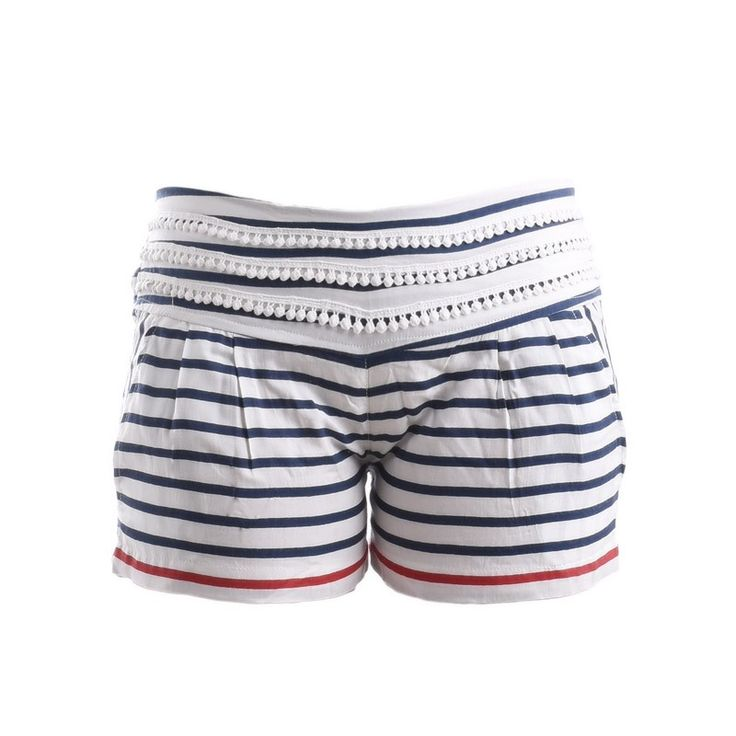 SHORTS WITH STRIPES - Trousers-Shorts - Clothes