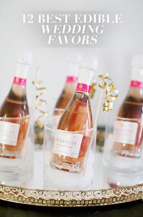 Instead Of Giving Guests Wedding Favors That Will End Up In A Drawer Collecting Dust