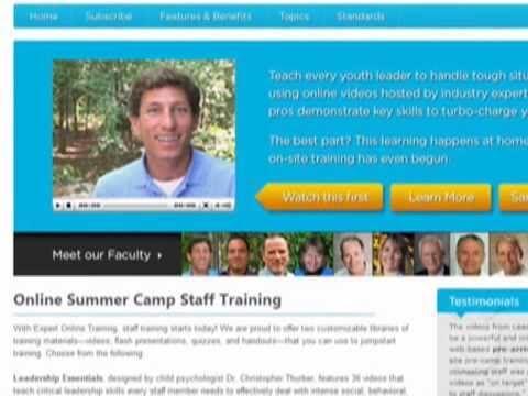 Expert Online Camp Staff Training.mov