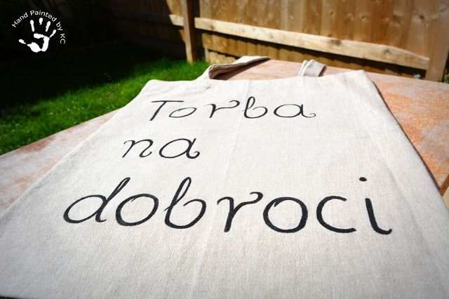 Hand made bag!  Ręcznie malowana torba na dobroci! :)  #handmade #handpainted #eco #diy #bag #dobroci #torba #zakupy #shopping