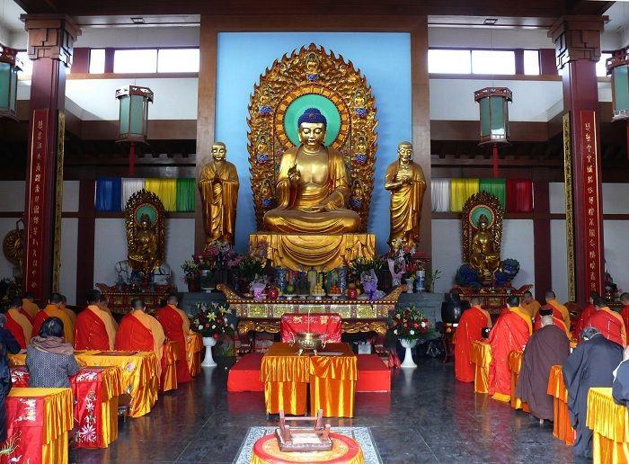 Boeddha tempel ( Sri Lanka )