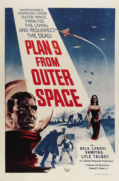 Plan 9 from Outer Space...grew up watching all 1950s sci fi!