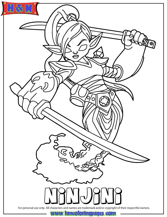 this cute coloring book page check out these similar wrapcircular disabletitlemetamoredatevisit skylanders giants magic ninjini
