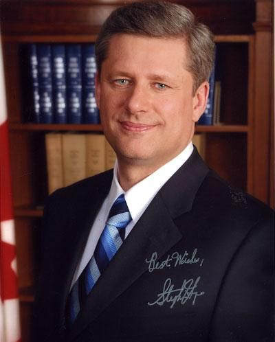 the Prime Minister of Canada Stephen Harper