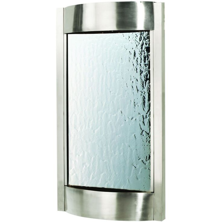 Contempo Luna Vertical Indoor Waterfall Wall Fountain