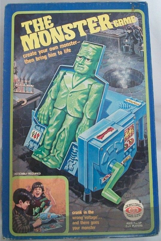 IDEAL 1977 The Monster Game