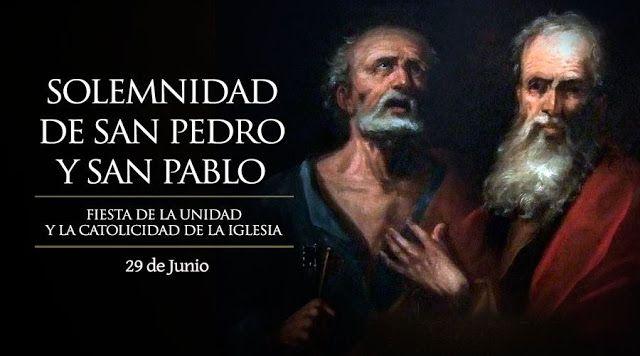 BLOG CATÓLICO DE ORACIONES Y DEVOCIONES CATÓLICAS: SAN PEDRO Y SAN PABLO, BIOGRAFÍA, NOVENA Y IMÁGENE...