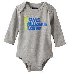 "Baby Boy Nike ""Mom's Valuable Player"" Bodysuit"
