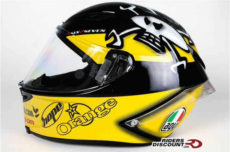 The AGV Corsa Guy Martin Helmet is a MUST have for any Guy fan! Click for more information about this helmet.