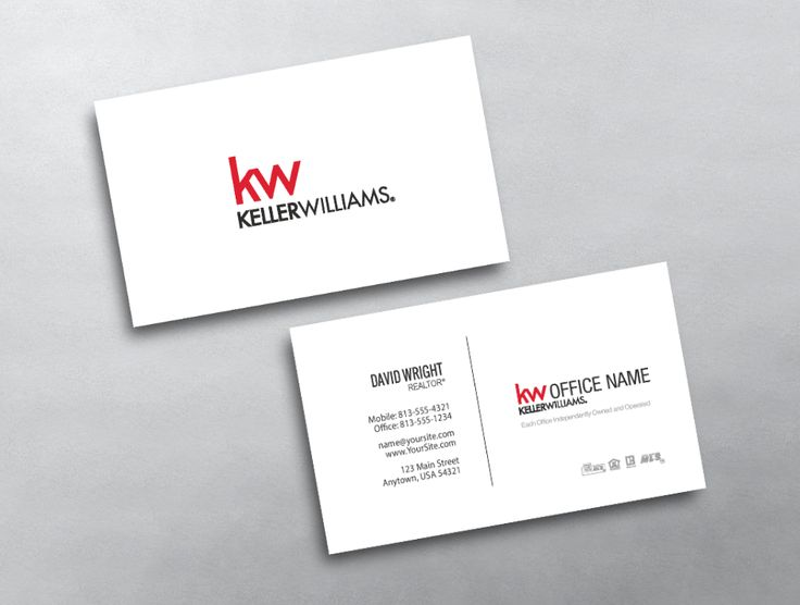 16 best new keller williams business card templates images on this clean keller williams business card features a simple yet professional design reheart Image collections