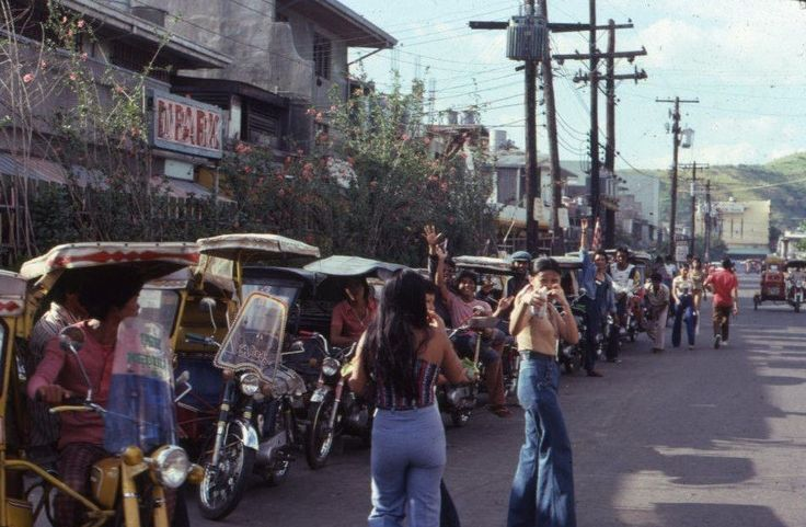 https://flic.kr/p/yS6DSv | Street scene. Olongapo City. 1977