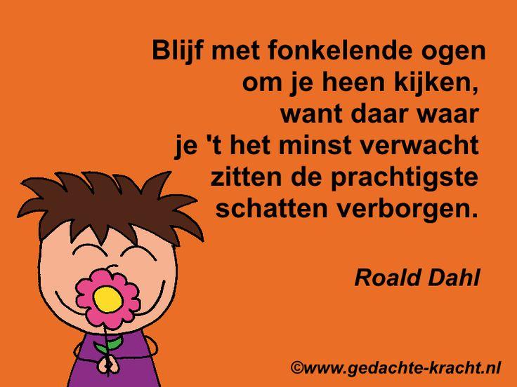Citaten Roald Dahl : Best images about gedachte kracht citaten on pinterest