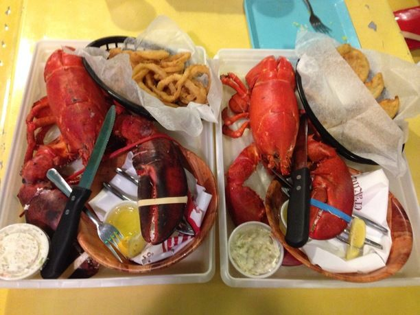 Jazzy's Mainely Lobster and Seafood, Cocoa Beach, Florida — by SMRTJim. Amazing and delicious 3lb lobsters in a very casual outdoor restaurant.