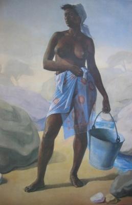 Aslan nude painter artist oil painting