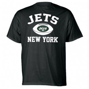 New York Jets Youth Standard Issue T-Shirt (Black)