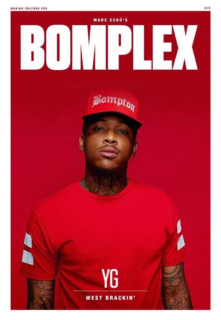 Rapper YG had an interest play on Complex Magazine's title. Maybe the artists can play or design within Word's title too