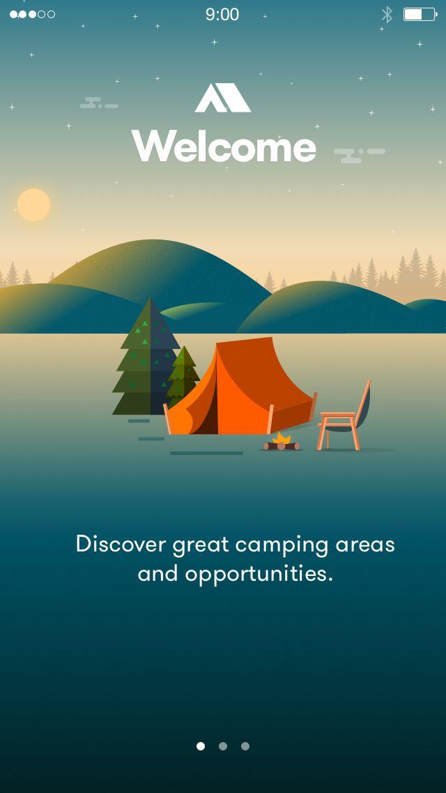 Camping app by Murat...