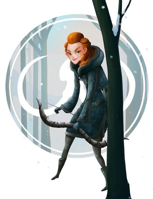 12 dibujos de las mujeres de Game of Thrones | Web Bizarro