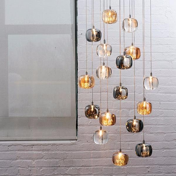 Beautiful Solid Crystal Small Glass Pendant – Lighting Collective