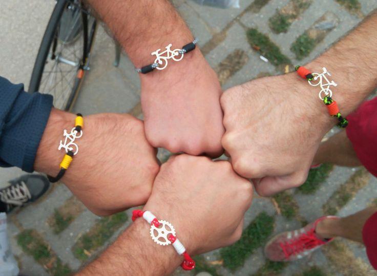 Bicycle craze; paracord bracelet