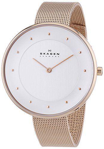 Skagen Denmark Damen-Armbanduhr Analog Quarz Edelstahl SKW2142 - http://uhr.haus/skagen/skagen-denmark-damen-armbanduhr-analog-quarz