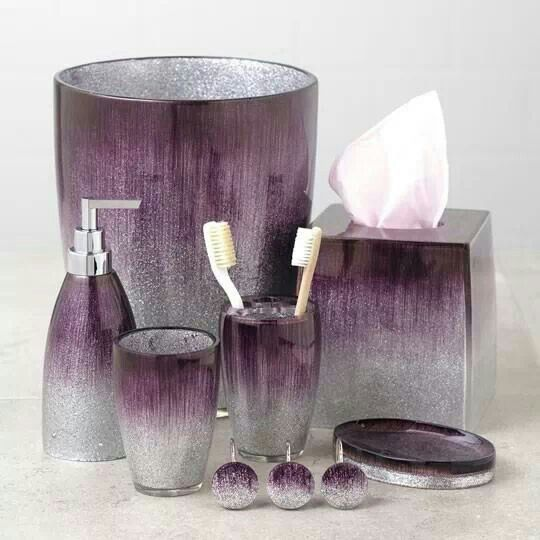 stardust purple bath collection love this for the master bathroom but seems to be sold out everywhere