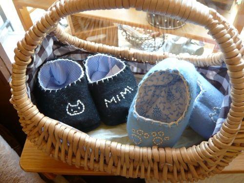 プレゼントにぴったりのベビーシューズの作り方|フェルト|編み物・手芸・ソーイング