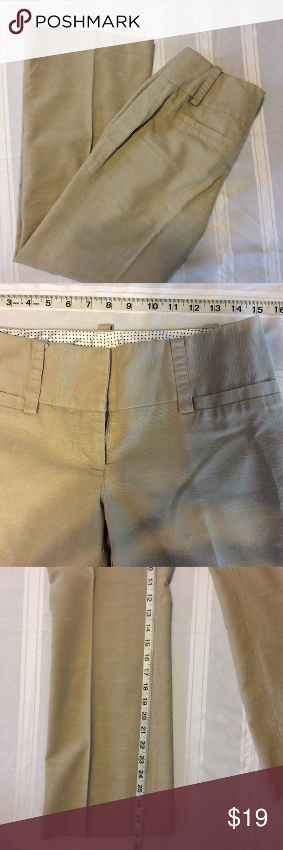 Maurices Womens Pants Size 1/2 Short Dress Career 100% money back guarantee, free returns and excellent customer service.  Your item will ship within 24 hours after payment is received (excluding weekends and Holidays)  Please let us know if you have any questions.   Maurices Womens I Am Smart Tan Dress Pants Size 1/2S Career Slacks   Location: AA6  Our items are all from a pet free, smoke free home.  Items are purchased locally or donated so we are not aware if they have formally been…