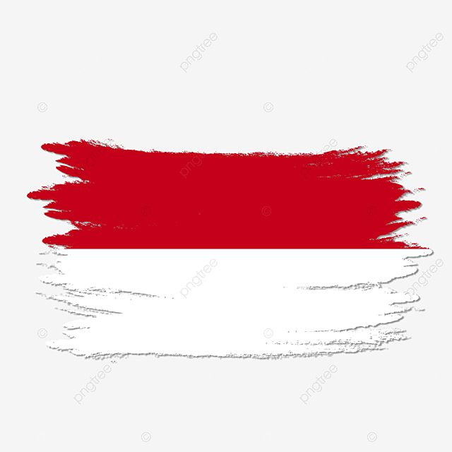 Indonesia Flag Transparent Watercolor Painted Brush Art Clipart Indonesia Indonesia Flag Png Transparent Clipart Image And Psd File For Free Download Graphic Poster Art Flag Vector Indonesia Flag