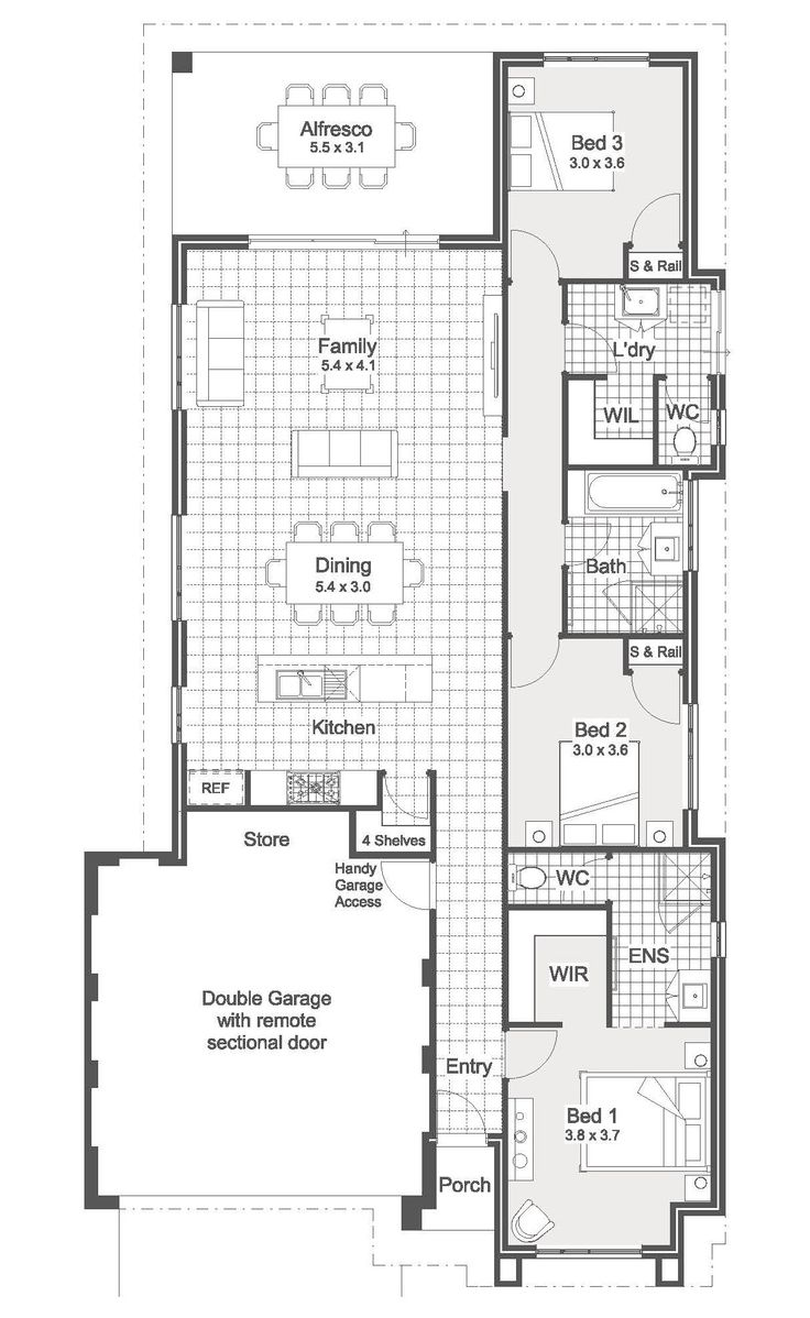 30 best contempo floorplans images on pinterest home design