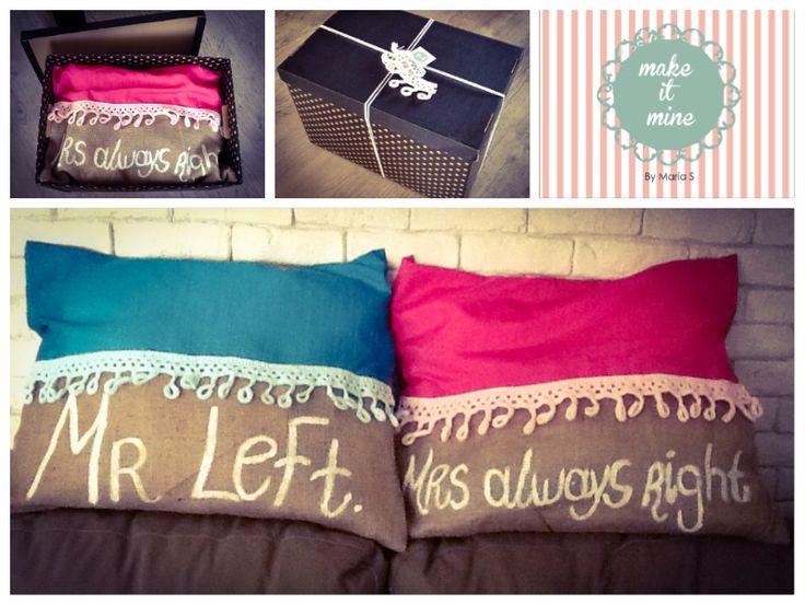 #mr.left#mrs.always right#funky#pillow#Loveit#makeitminebymarias#