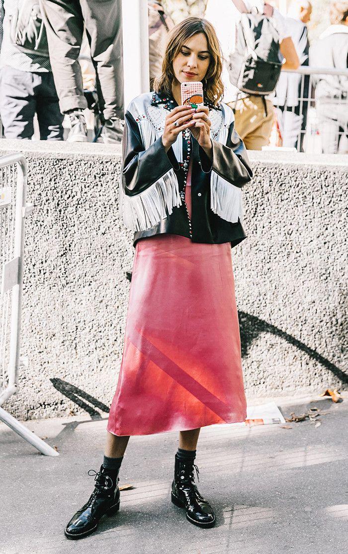 The 5 Shoe Trends Everyone Wore in Paris via @WhoWhatWear