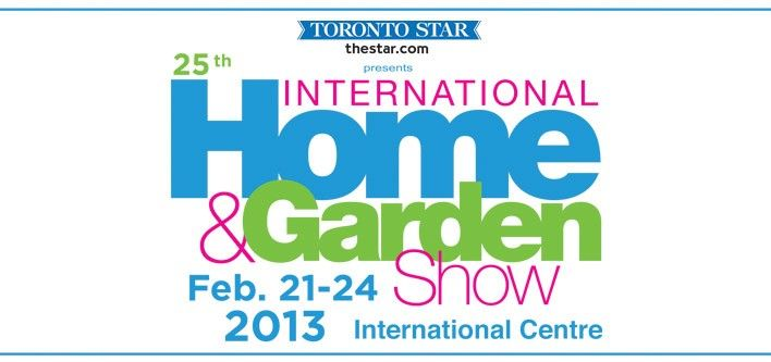 $15 for Two Tickets to the International Home and Garden Show, February 21-24 at the International Centre ($30 Value)