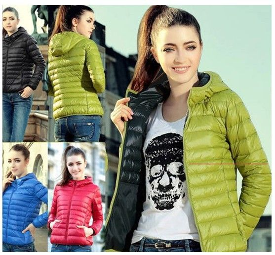 Find More Down & Parkas Information about New ladies special offers in Europe and America long sleeve thin padded cotton clothing cotton cropped jacket with hood woman,High Quality clothing work,China jacket lapel Suppliers, Cheap jacket punk from Guangzhou vicky hair products co., LTD  on Aliexpress.com