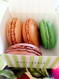 Macarons from Financier Patisserie